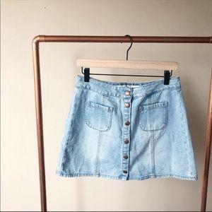 Brandy Melville jean skirt size 29
